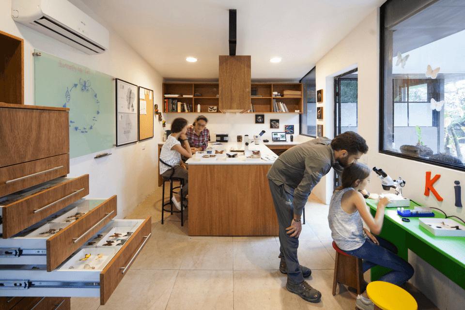Actividades para niños en el Laboratorio de Mashpi Lodge