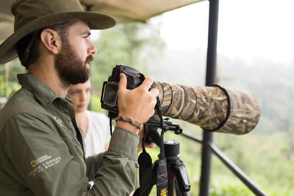 Observación de aves en Mashpi Lodge
