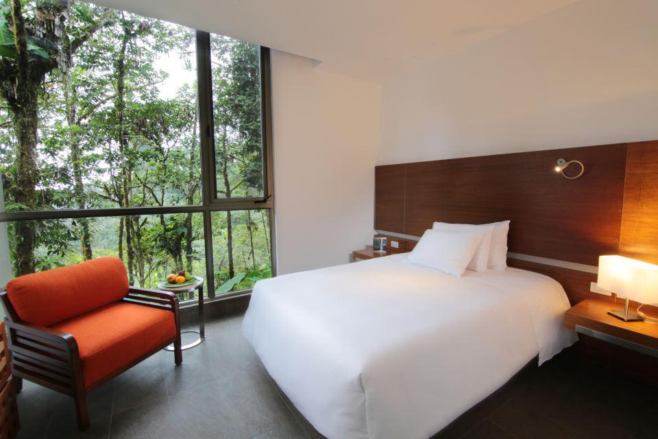 Rooms at Mashpi Lodge