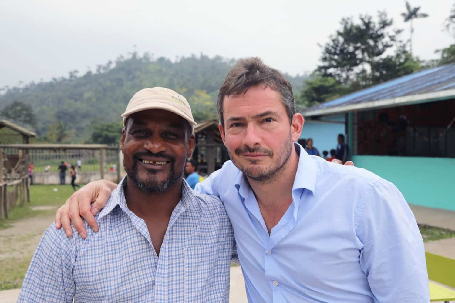 Giles Coren and Mashpi guide Jose Napa
