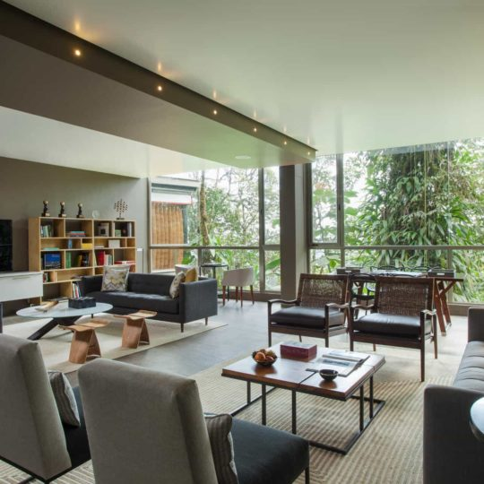 Lounge at Mashpi Lodge