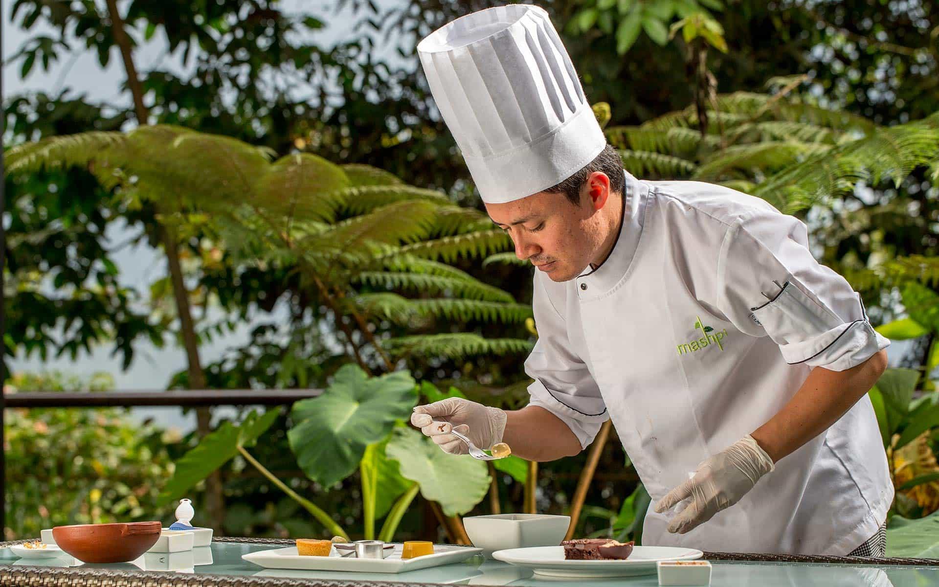Mashpi Lodge's chef