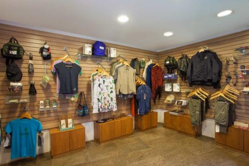 Mashpi Lodge's gift shop