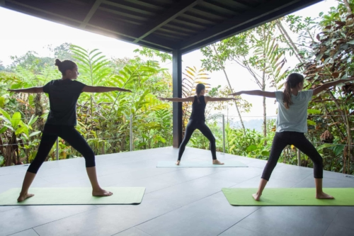 Mashpi Lodge yoga deck