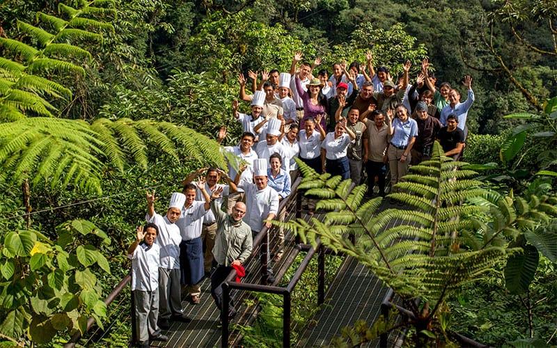 Mashpi Lodge's staff
