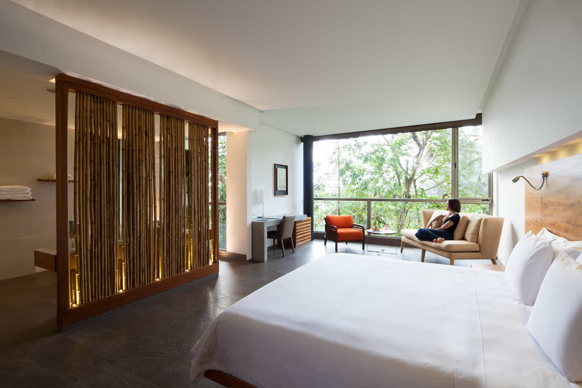 Yaku suite at Mashpi Lodge