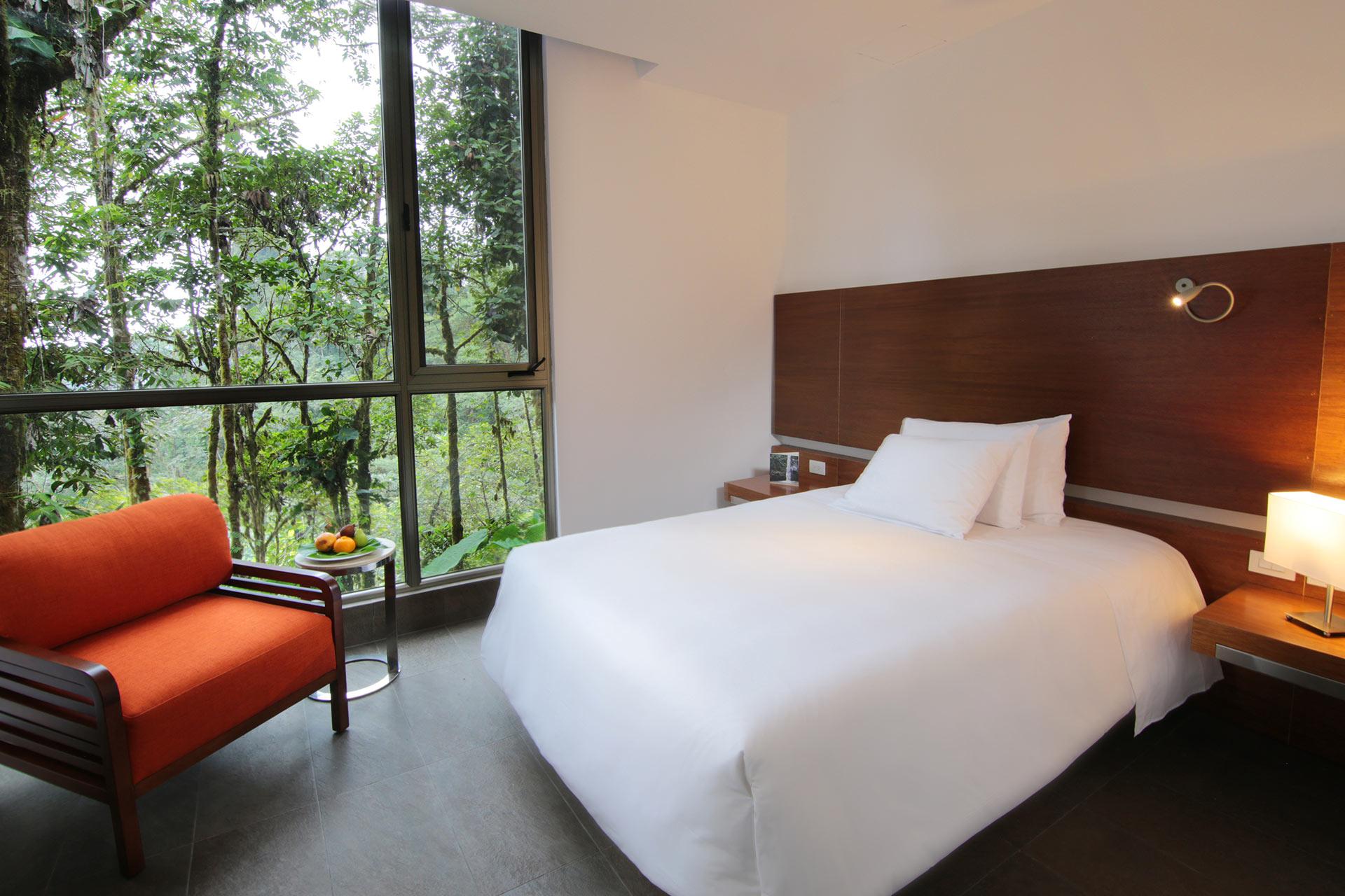 Wawa Room at Mashpi Lodge in Ecuador's Cloud forest