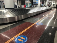 Baggage Claim Airport Distance Markers