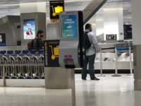 Hand Sanitizing Stations Baggage Claim