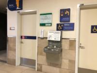 Bathrooms Quito Airport Signage